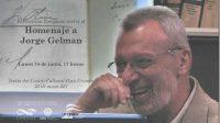 Homenaje a Jorge Gelman en el Centro Cultural Paco Urondo